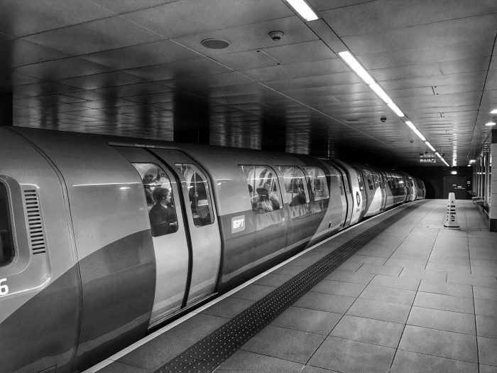 St Enoch SPT Subway Station
